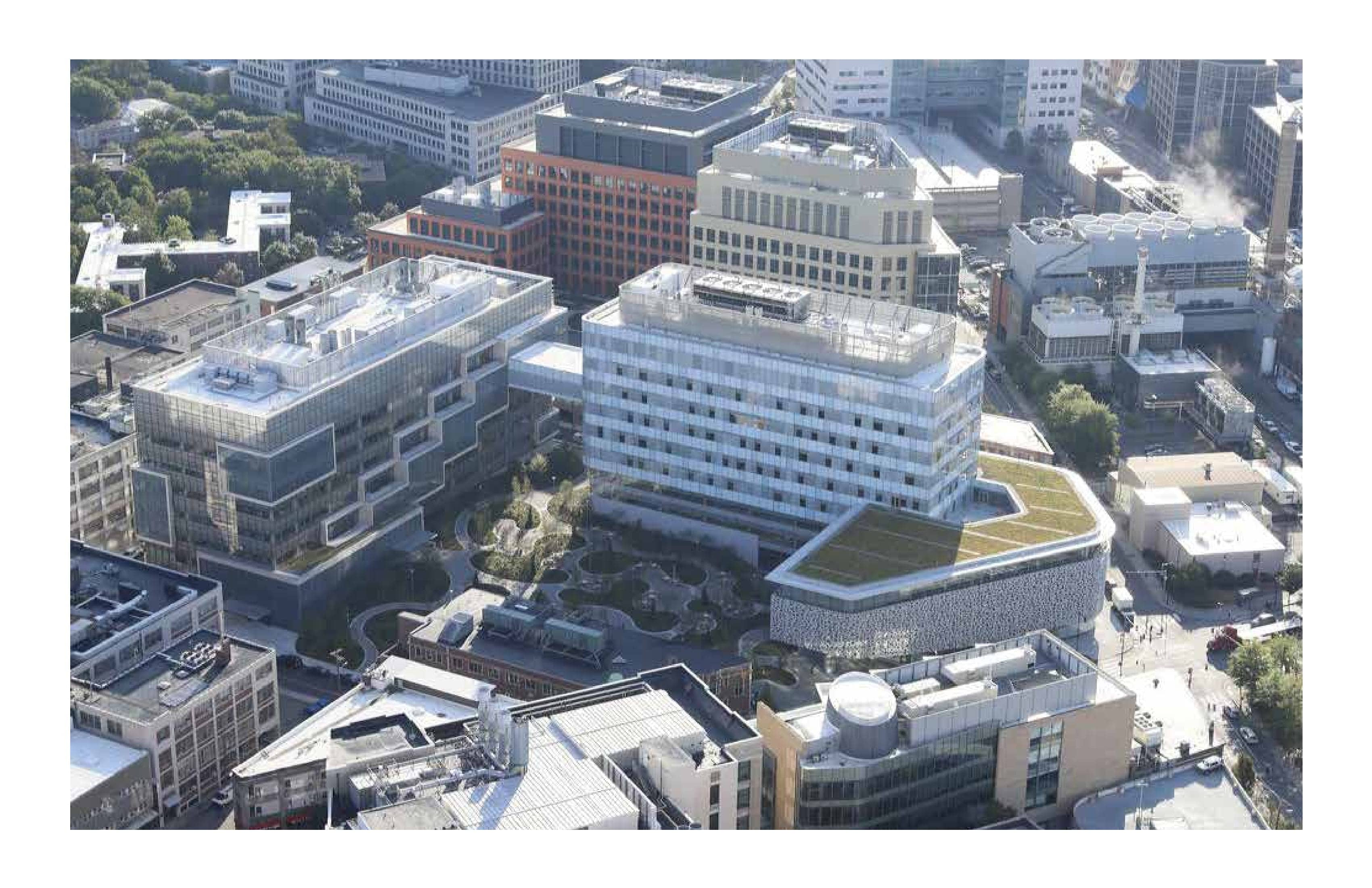 Aerial view of Novartis complex Iwan Baan