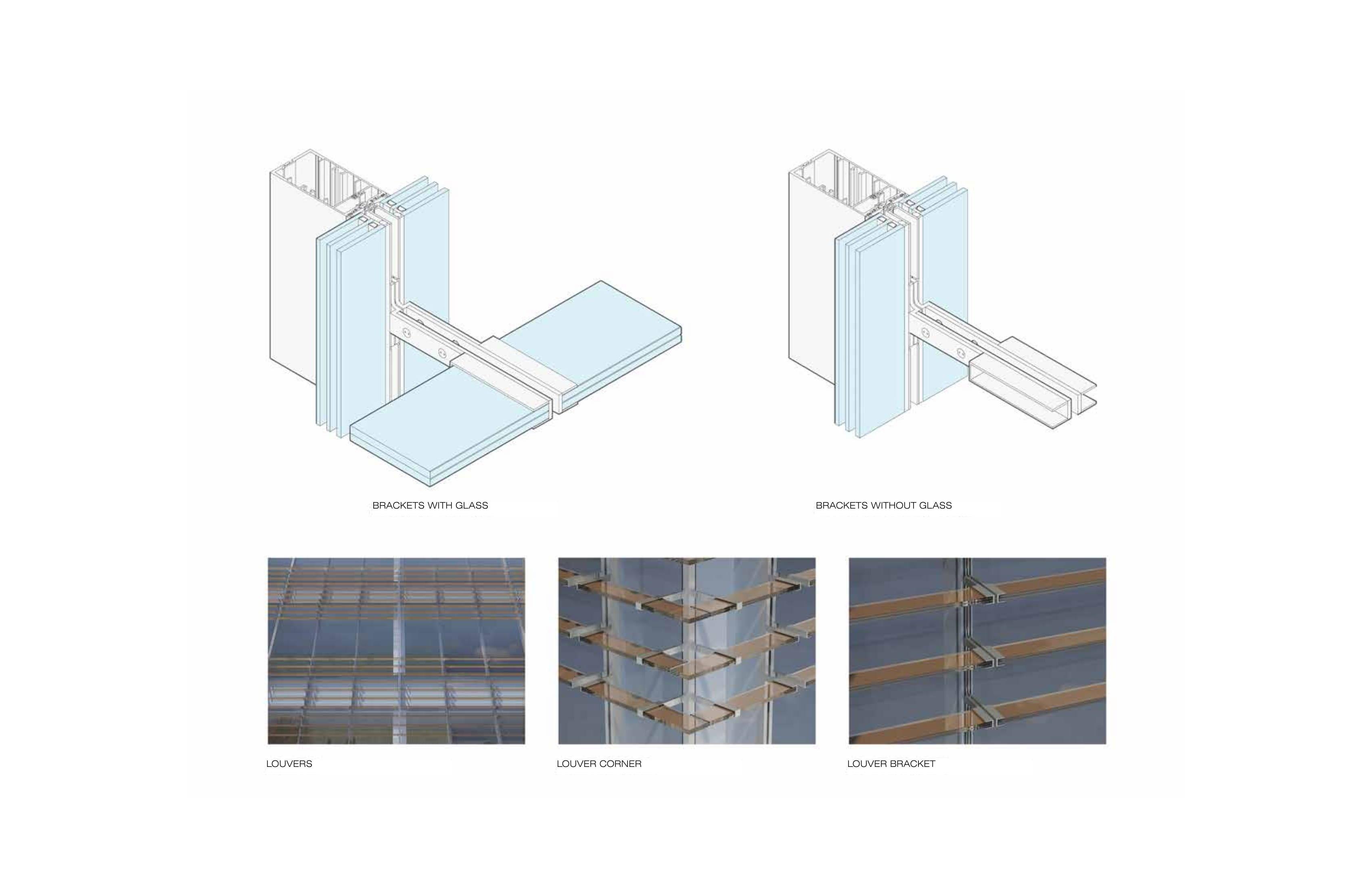 Louver brackets Toshiko Mori Architect}
