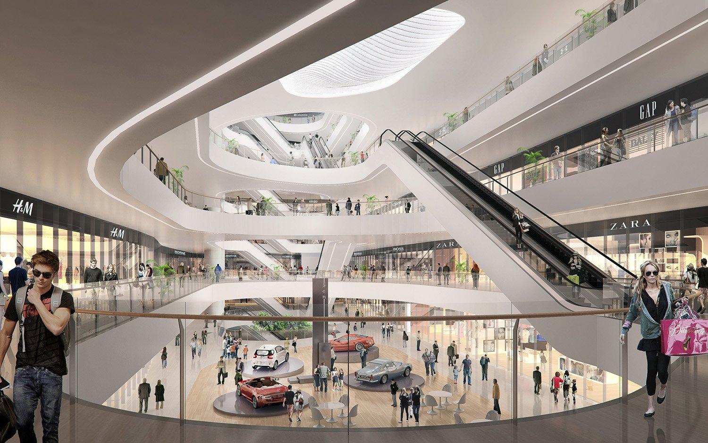 Indoor Retail Space EID Architecture