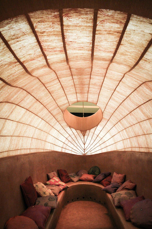 Interior view of the 'Zeppelin'