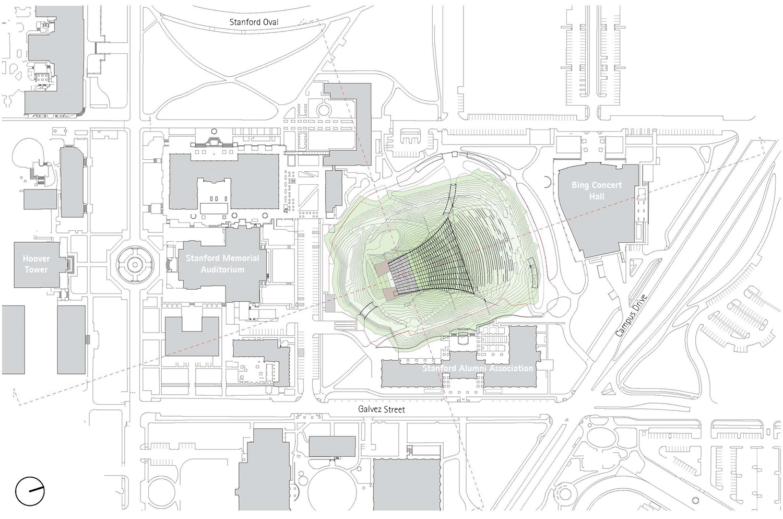 James Carpenter Design Associates Frost Amphitheater Renewal