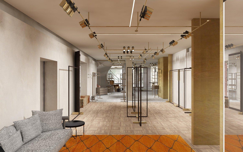 Ground floor render view Duccio Grassi Architects}