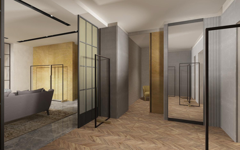 VIP room study view Duccio Grassi Architects}