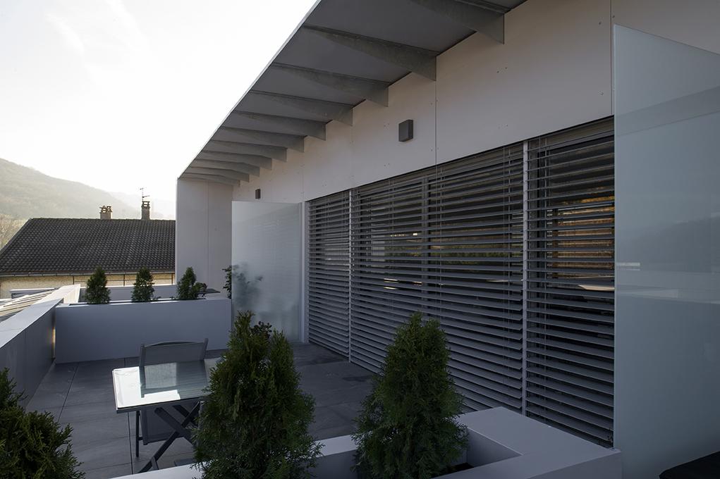 East terrasse