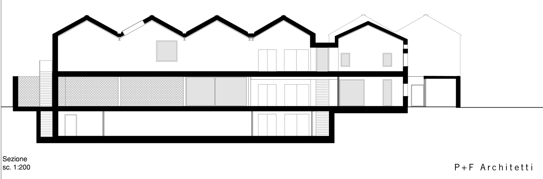 sezione longitudinale P+F}