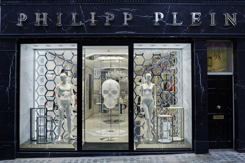 Philipp Plein London: Shopwindows
