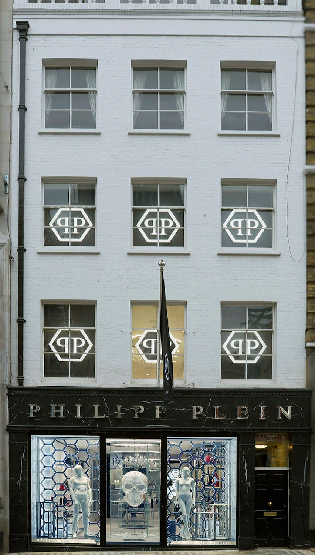 Philipp Plein London: Façade