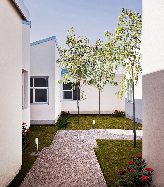 Interior garden. Jesús J. Ruiz Alonso}