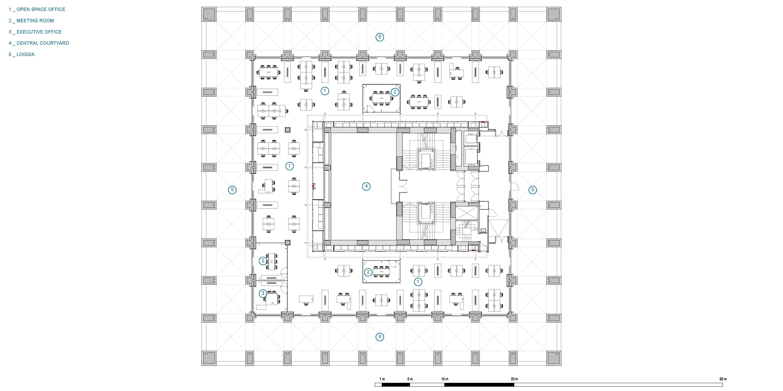 fifth floor plan }