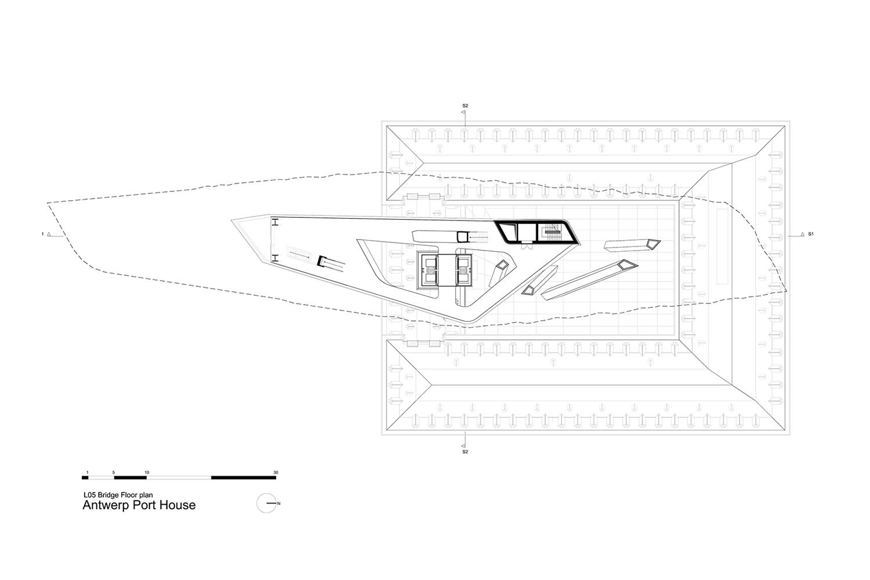 Bridge Floor Plan Zaha Hadid Architects}