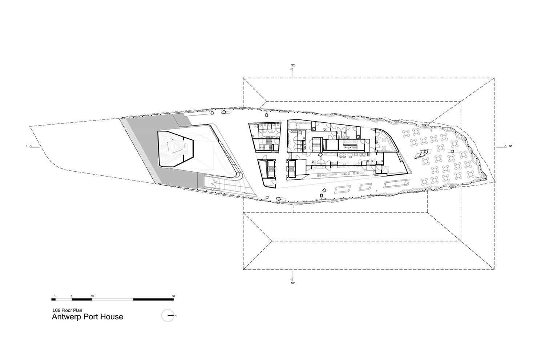 Level 6 Floor Plan Zaha Hadid Architects}