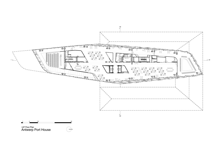Level 7 Floor Plan Zaha Hadid Architects}