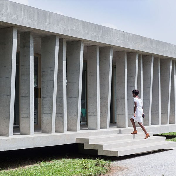 The new Swiss Embassy in Ivory Coast