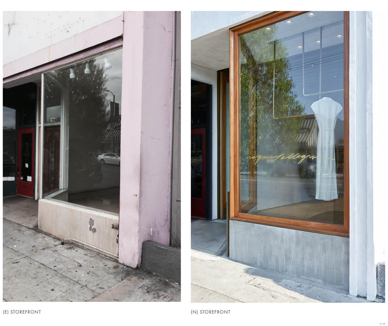 Storefront Dominique Vorillon}