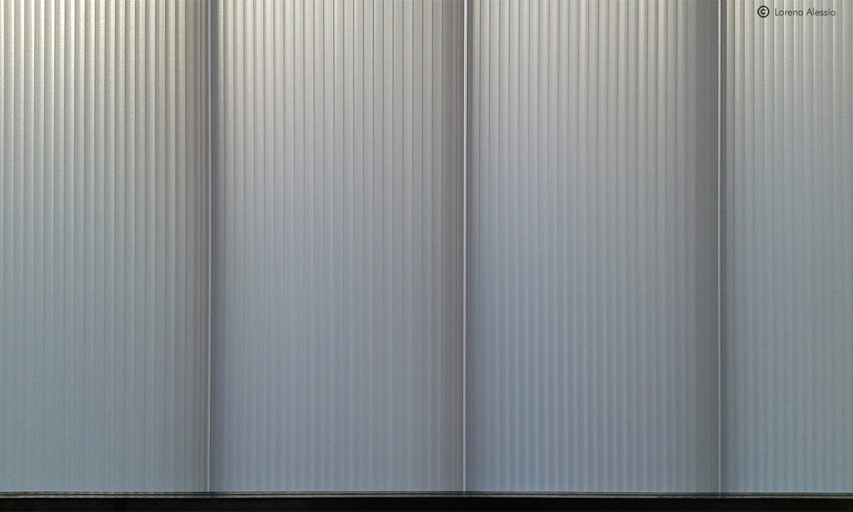 Dettaglio parete in policarbonato Lorena Alessio