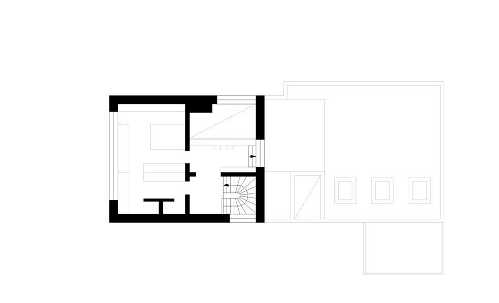 Floor Plan 1st floor SEHW Architektur}