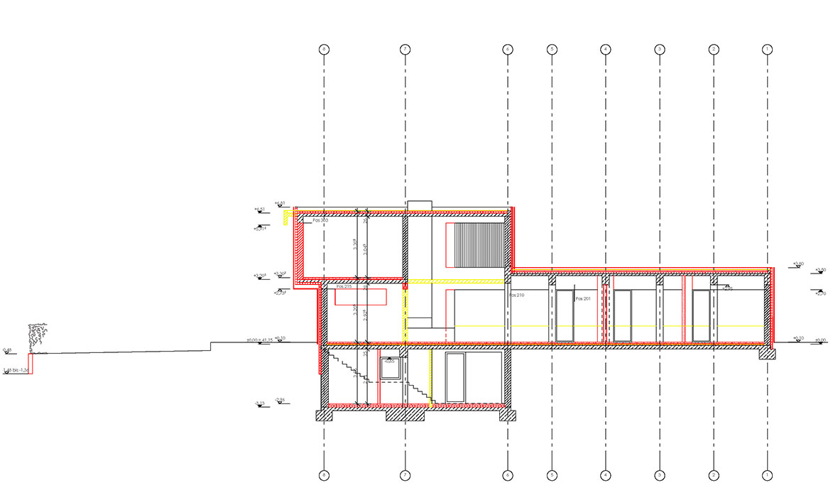 construction drawing SEHW Architektur}