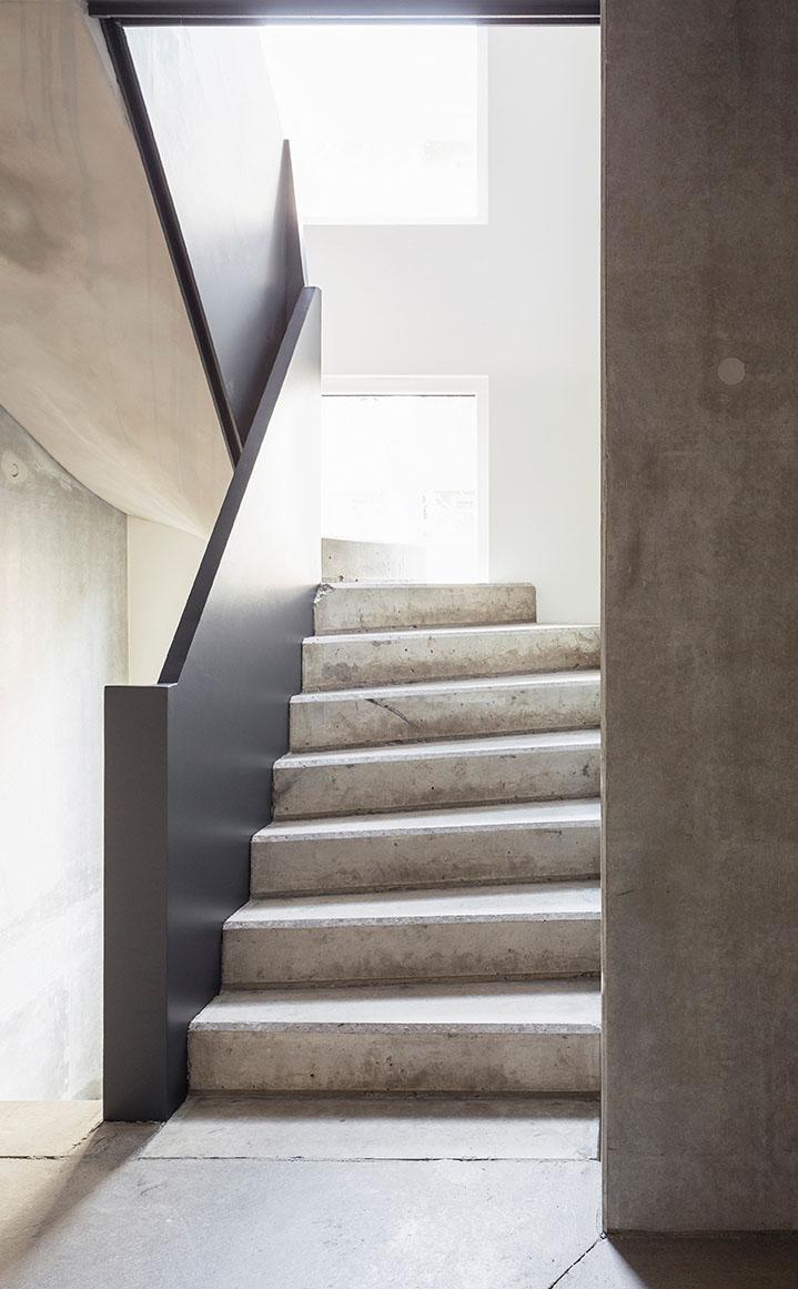 interior view stairway Philipp Obkircher
