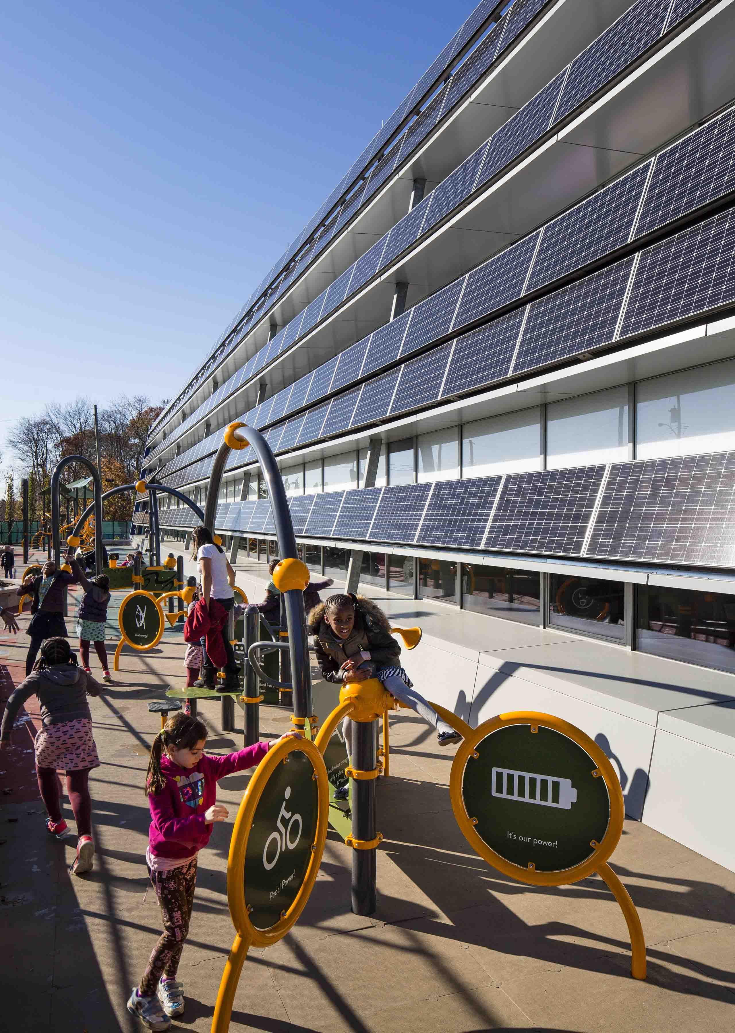 Playground and Solar Panels