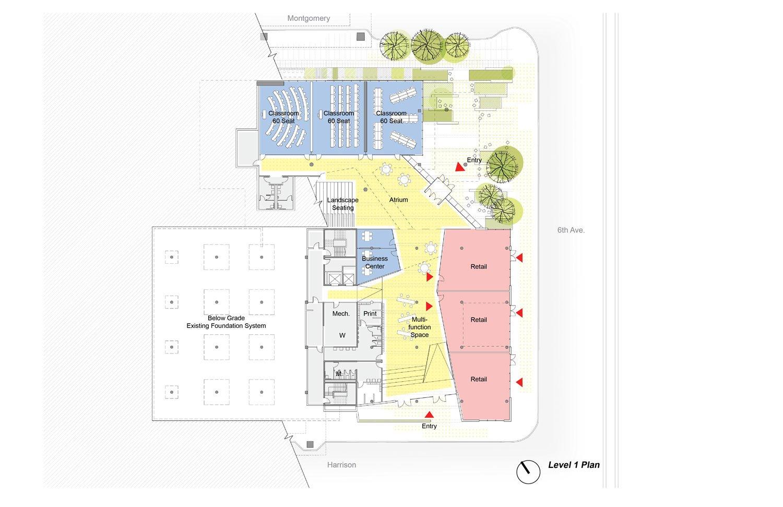 Karl Miller Center level 1 Behnisch Architekten}