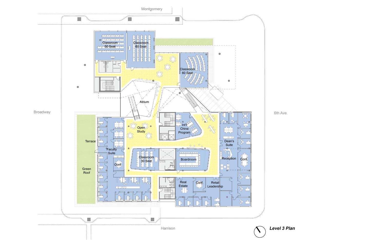 Karl Miller Center level 3 Behnisch Architekten}