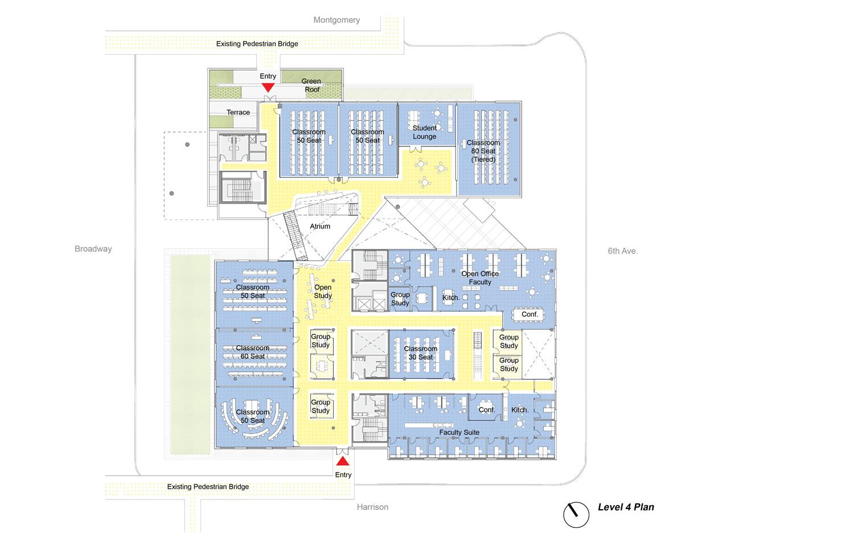 Karl Miller Center level 4 Behnisch Architekten}