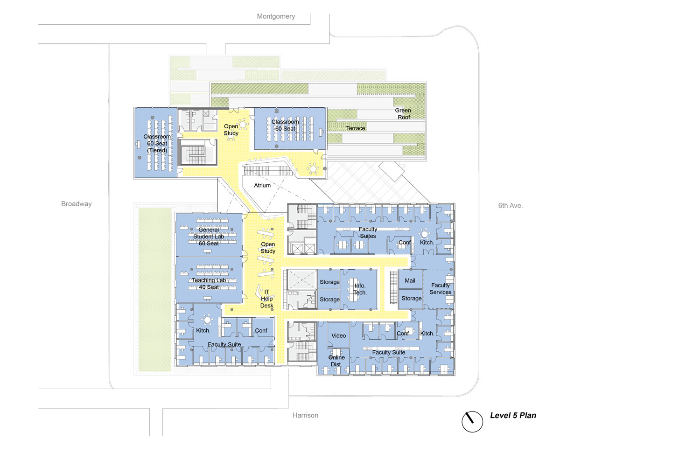 Karl Miller Center level 5 Behnisch Architekten}
