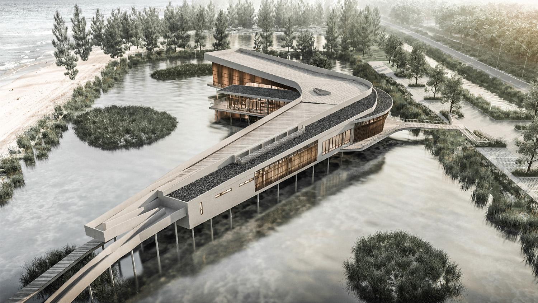 Vaslab Architecture Pak Phanang Wind Park Community Center