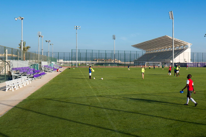 North Site athletics field