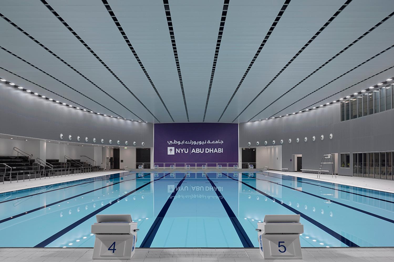 Campus Center: Indoor Swimming Pool