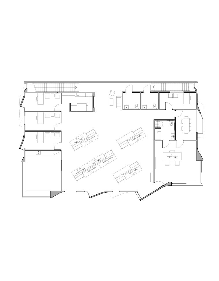 2nd Floor Plan Griffin Enright Architects}