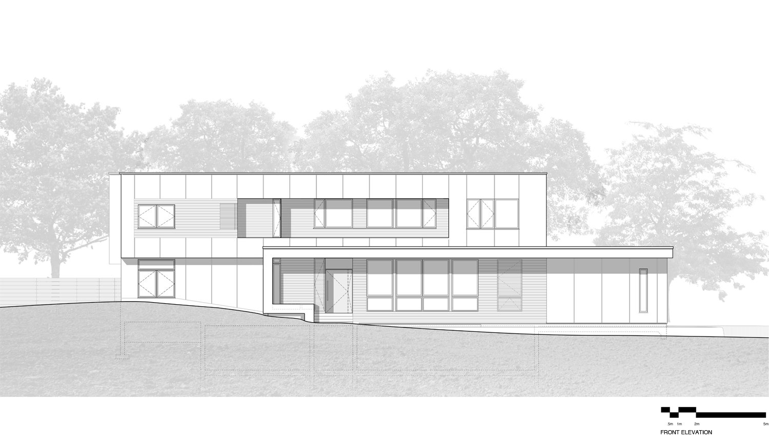 Front Elevation SPG Architects}