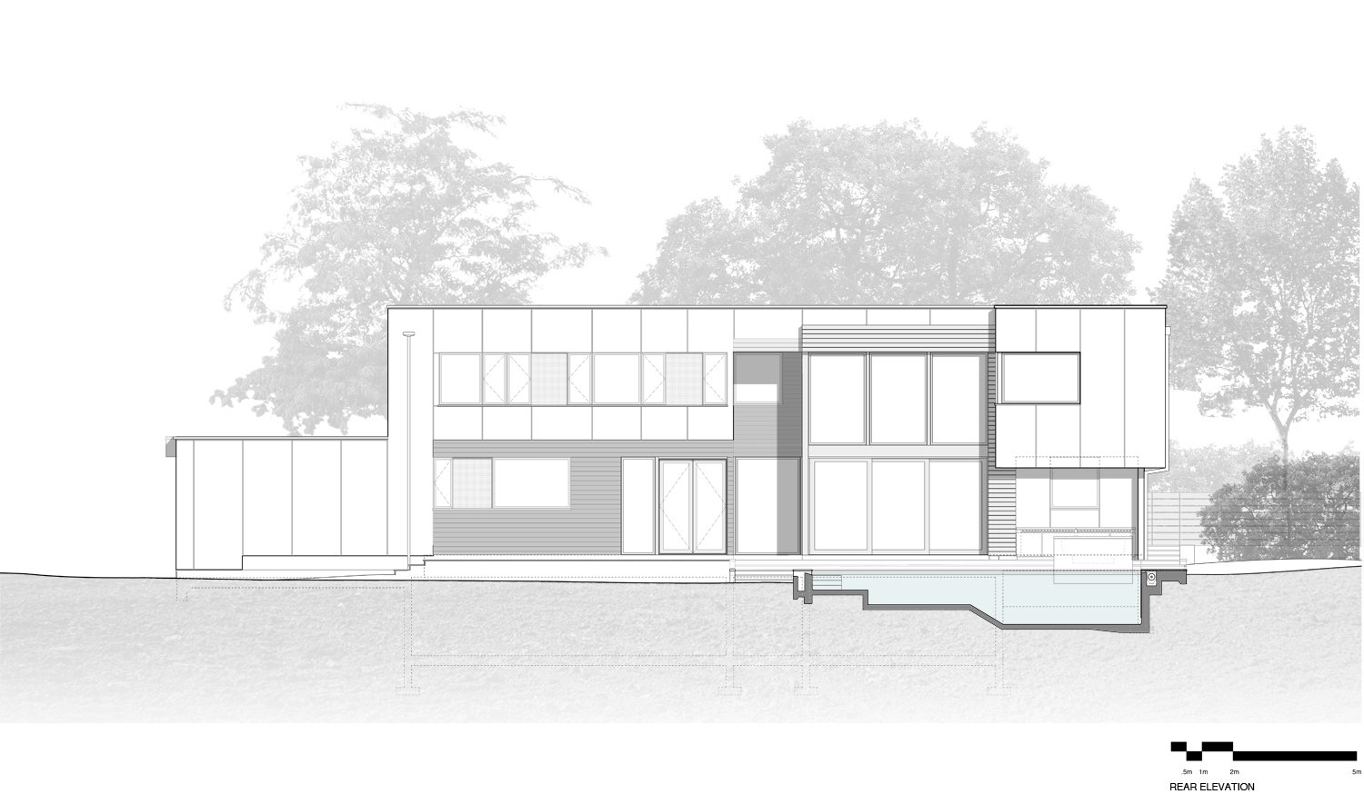Rear Elevation SPG Architects}