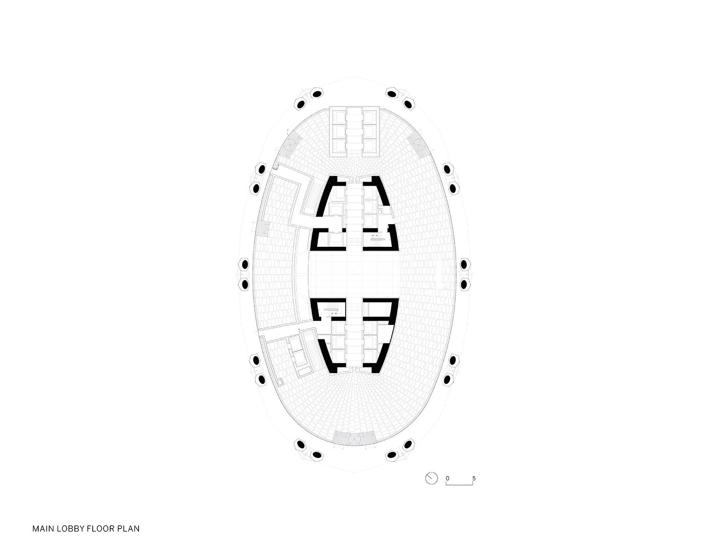 Lobby Floor Plan }