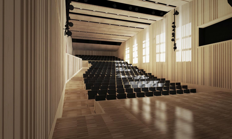 Music Hall rendering }