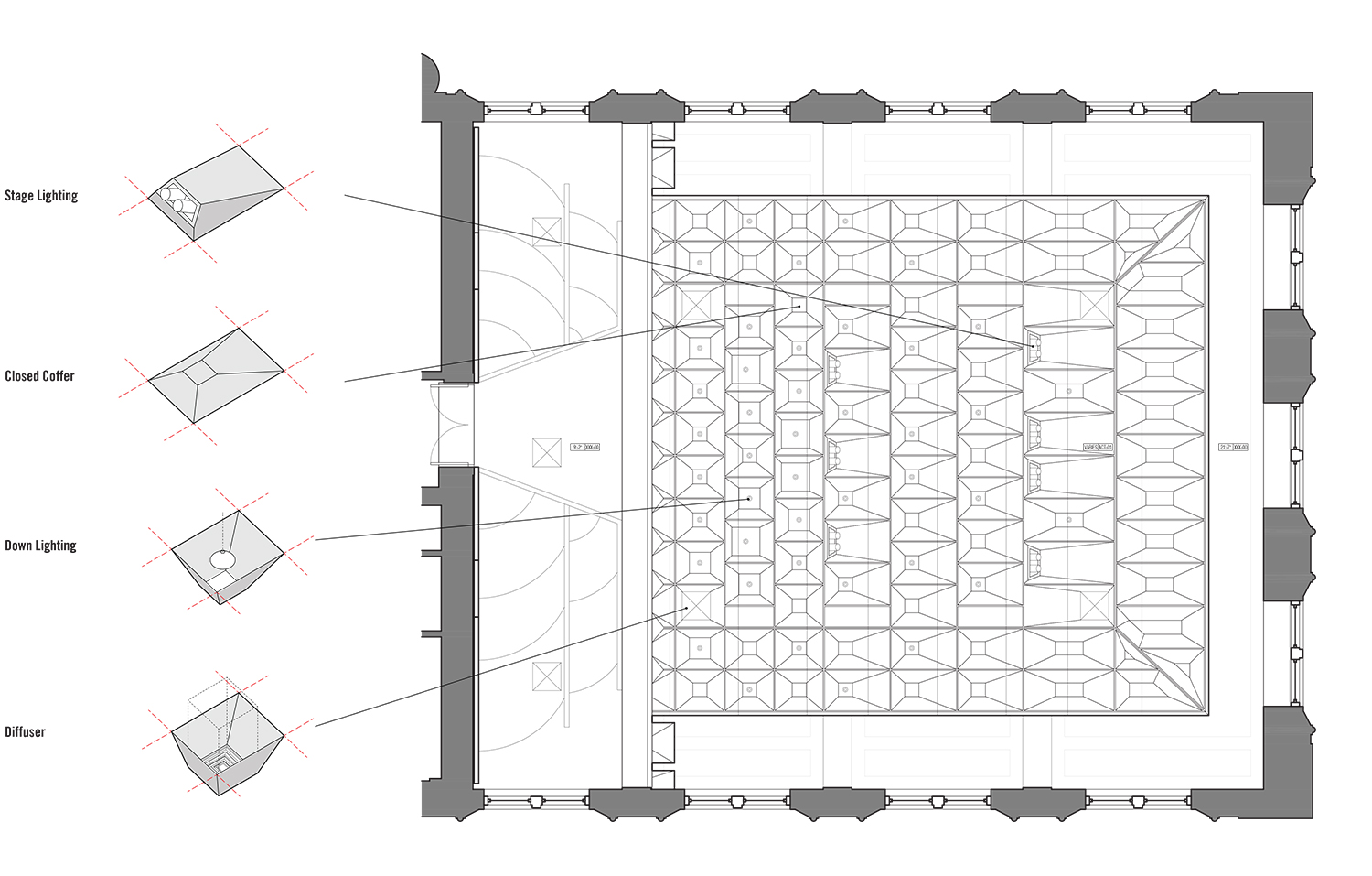 Reflected Ceiling Plan LTL Architects}