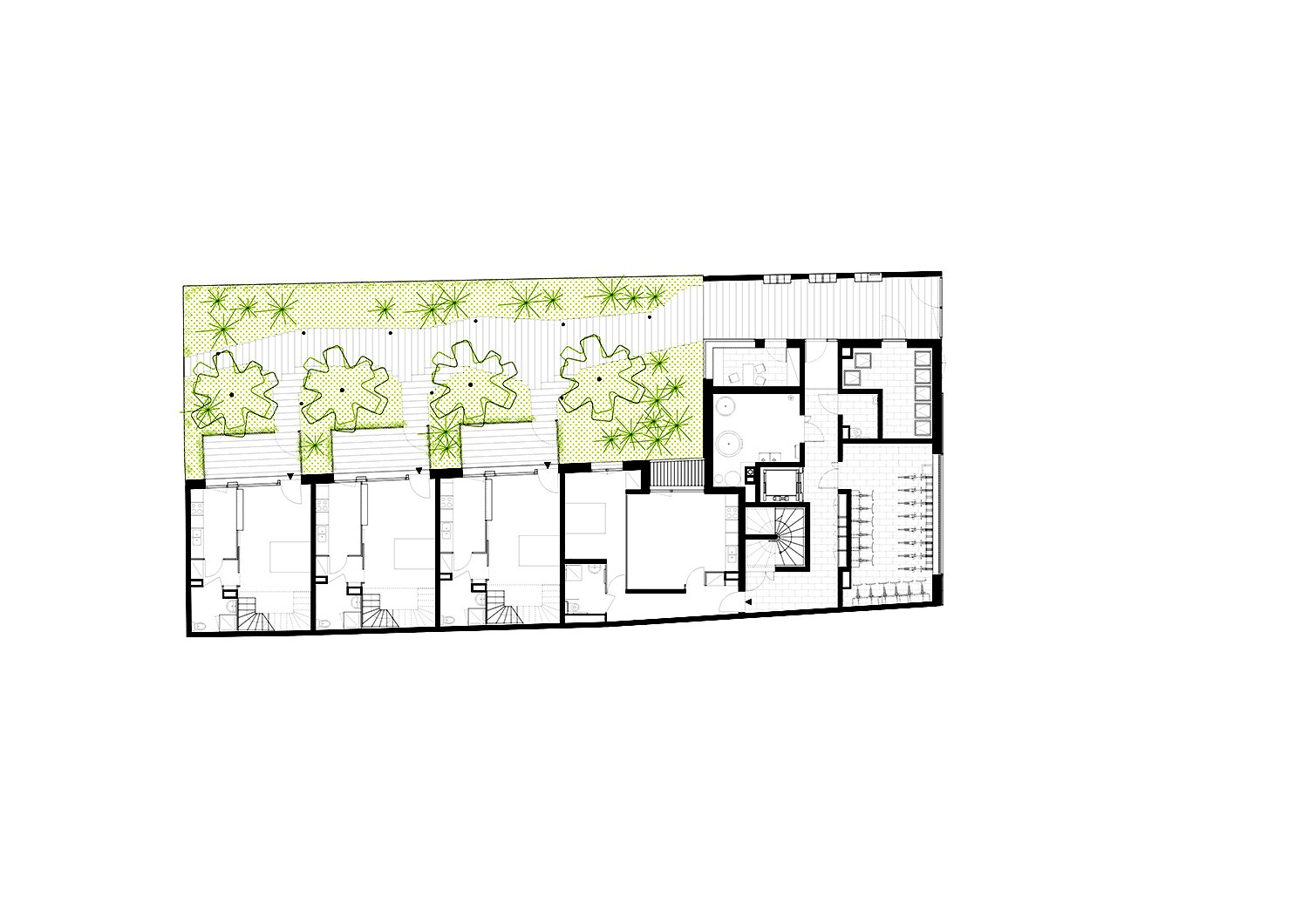 Ground floor plan }