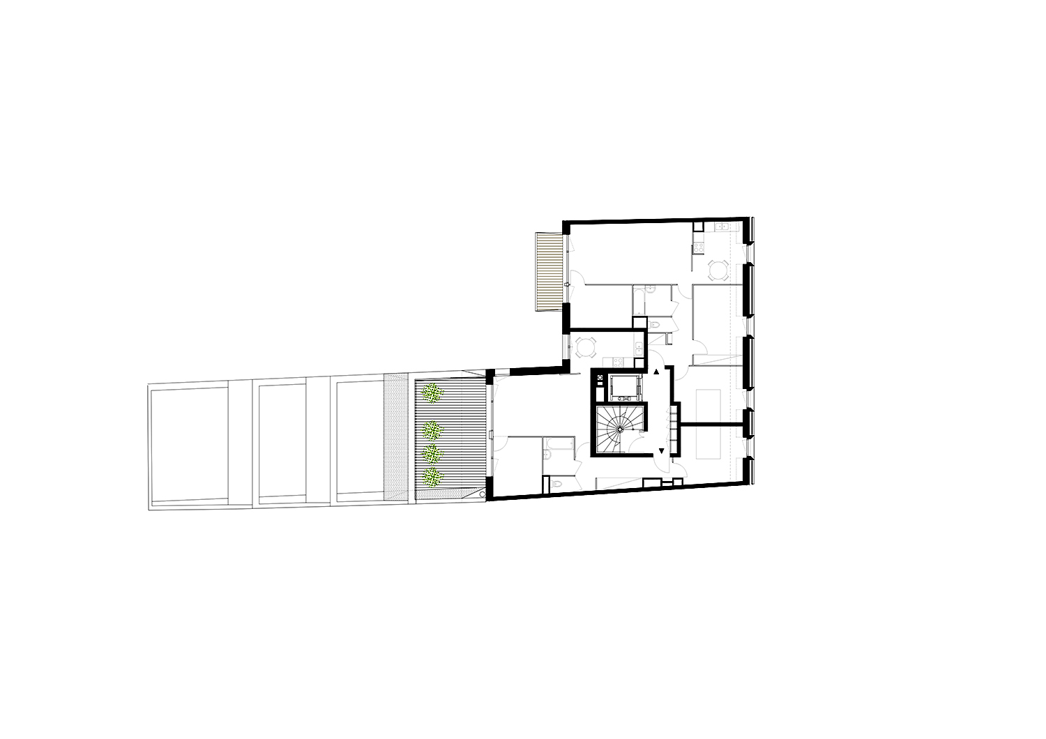 Fifth floor plan }