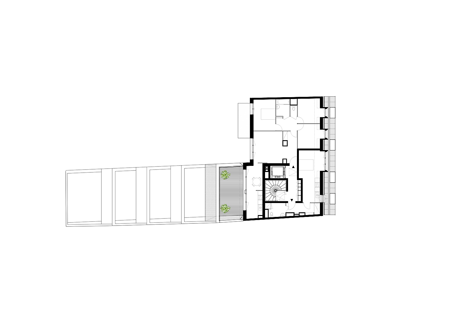 Sixth floor plan }