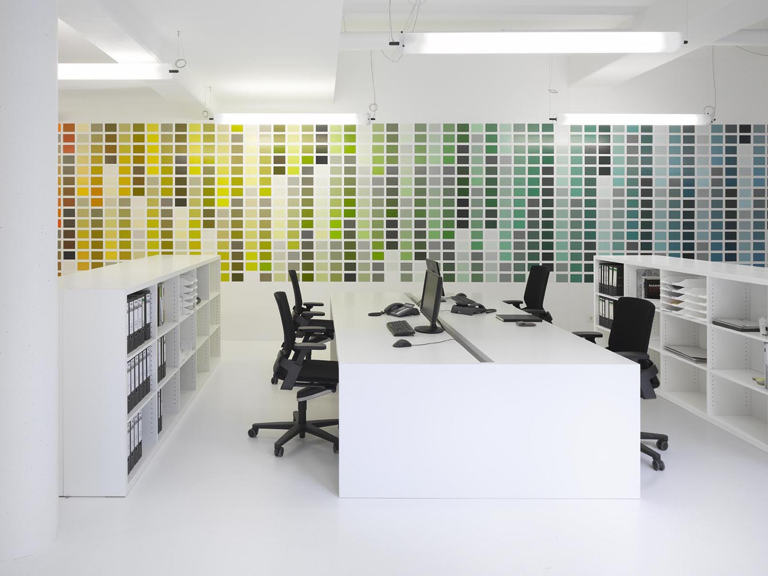 RAL design wall