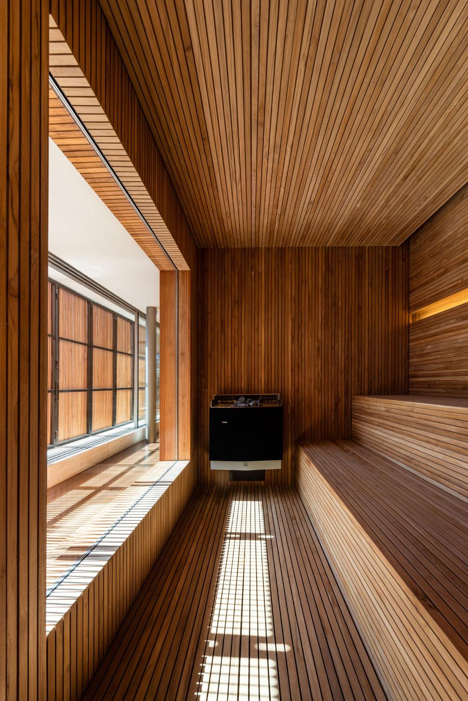 Sauna Courtesy Studio MK27}