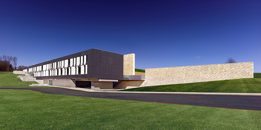 Exterior - Southwest Elevation, Event Entry Gayle Babcock, Architectural Imageworks, LLC