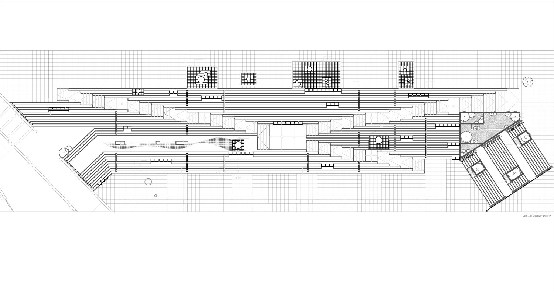 Ramp- Stair Detail Plan Antalya Metropolitan Municipality Archive}