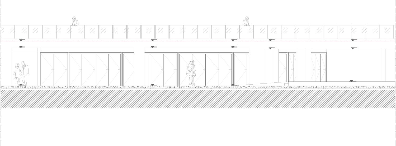 Commercial Units / Viewing Terrace Southwest Elevation Antalya Metropolitan Municipality Archive}