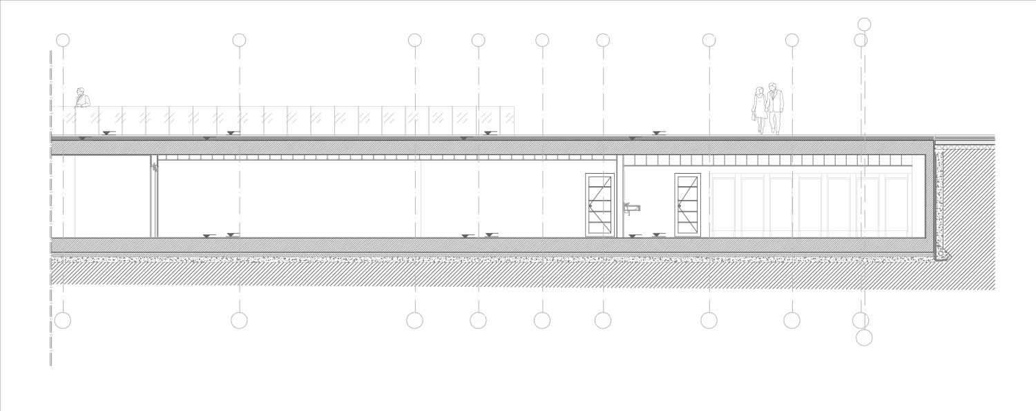 Commercial Units / Viewing Terrace Section 2 Antalya Metropolitan Municipality Archive}