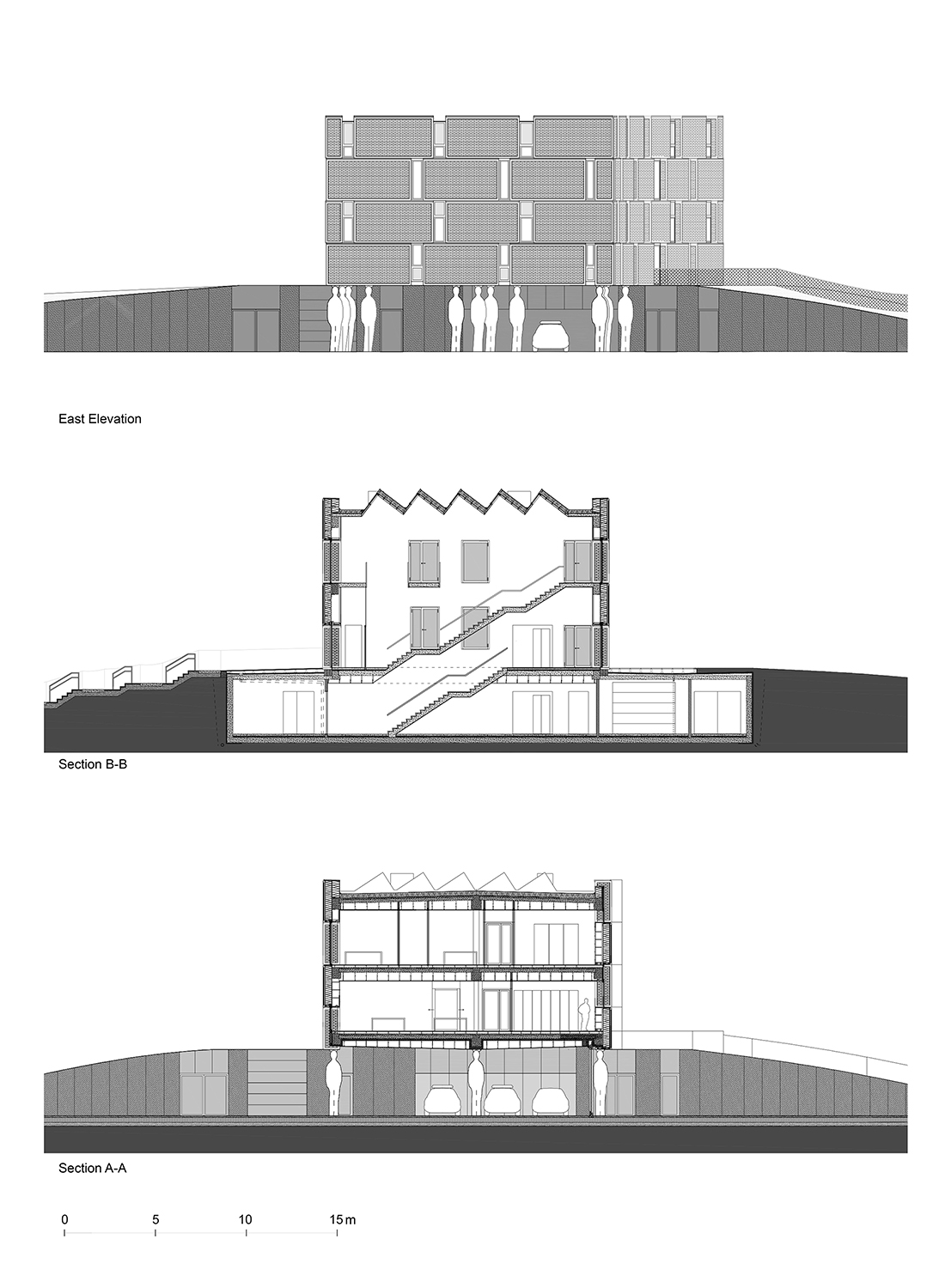 Cross Sections & Elevations ORG Permanent Modernity}
