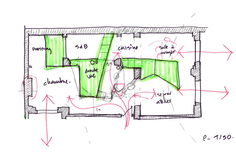Idea sketch }