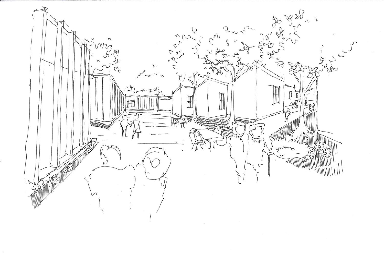 Garden sketch Contextos de Arquitectura y Urbanismo}