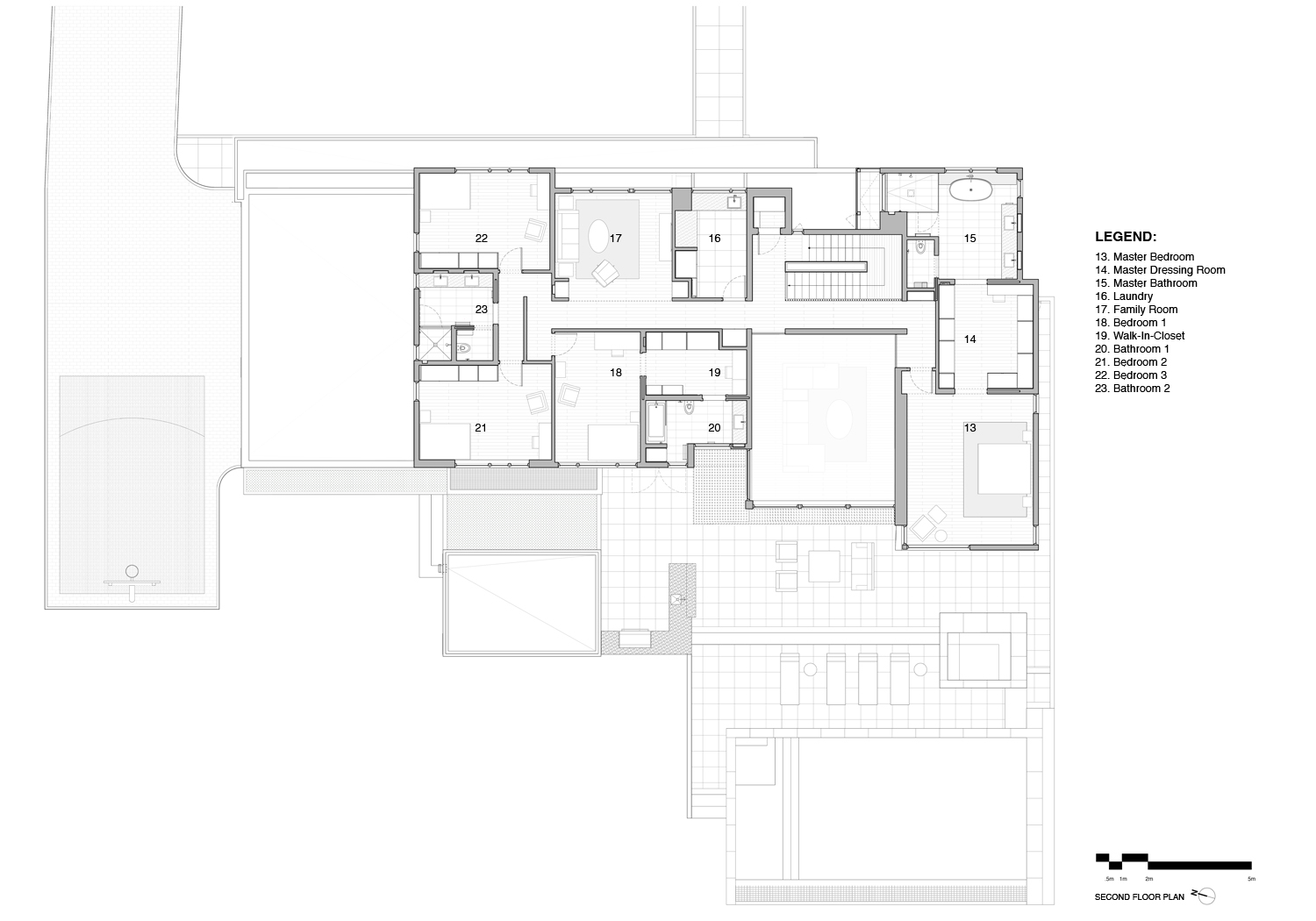 Second Floor Plan SPG Architects}