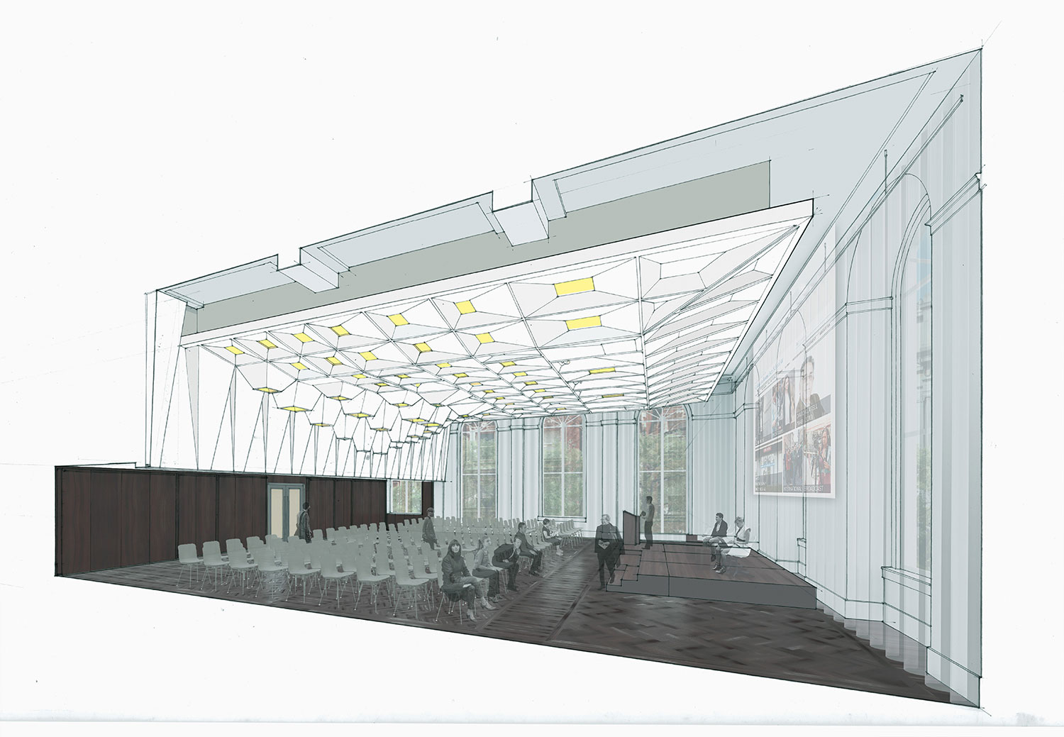 Section Perspective LTL Architects}